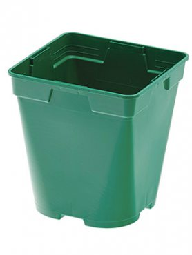 Горшок 3 л, зеленый (1 шт)