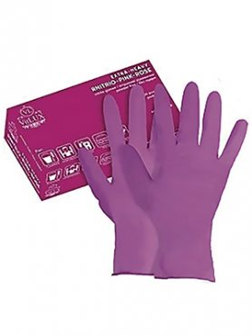 """Перчатки латекс хозяйственный розовые """"VitLux"""" XL (1 шт)"""