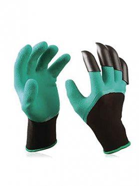 Перчатки садовые с когтями Garden Genie Gloves (1 пара) (1 шт)