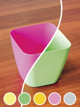 Горшок 2,8 л, розовый (1 шт)
